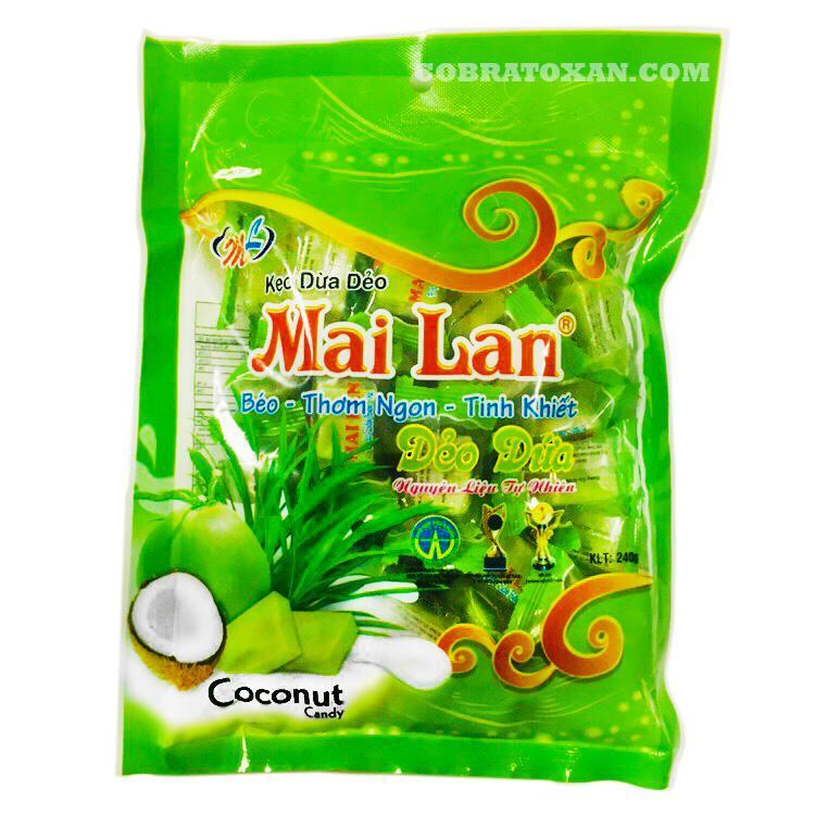 Mai Lan кокосовые конфеты с панданом