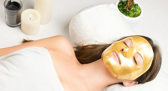 Коллагеновая золотая маска  для лица из Тайланда