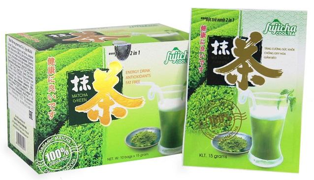 пакетированный зеленый matcha