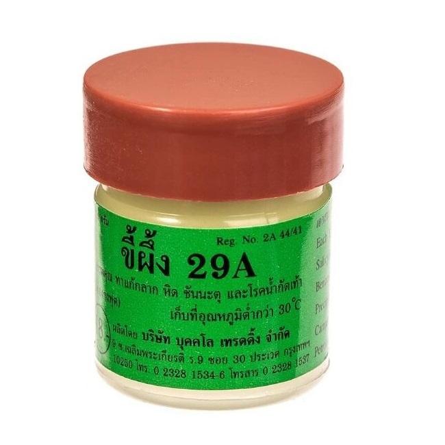 Тайская негормональная мазь «29А» от псориаза и экземы, Bukkalo Trading (7,5 г)