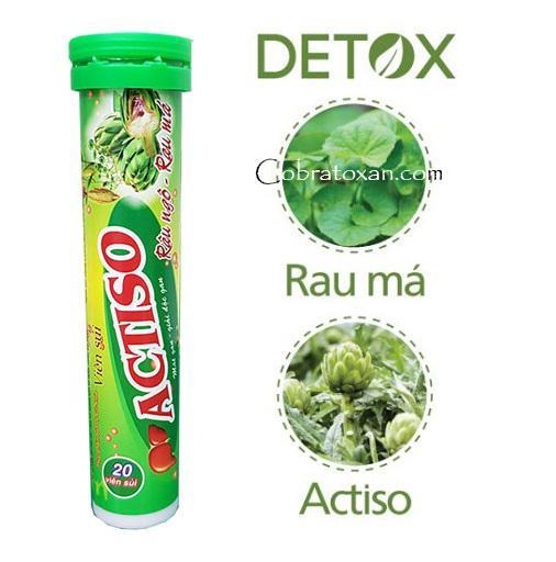 Витаминный напиток на основе артишока Actiso Detox