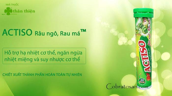 Actiso Detox из Вьетнама