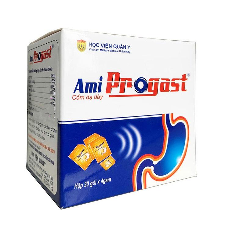 Натуральный препарат Ami Progast при заболеваниях желудочно-кишечного тракта, Вьетнам (20 пак. по 4 г)