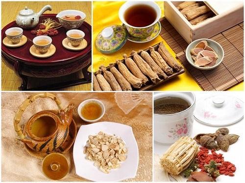 корейский чай с экстрактом женьшеня