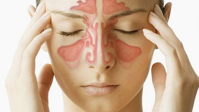 заложенные пазухи носа