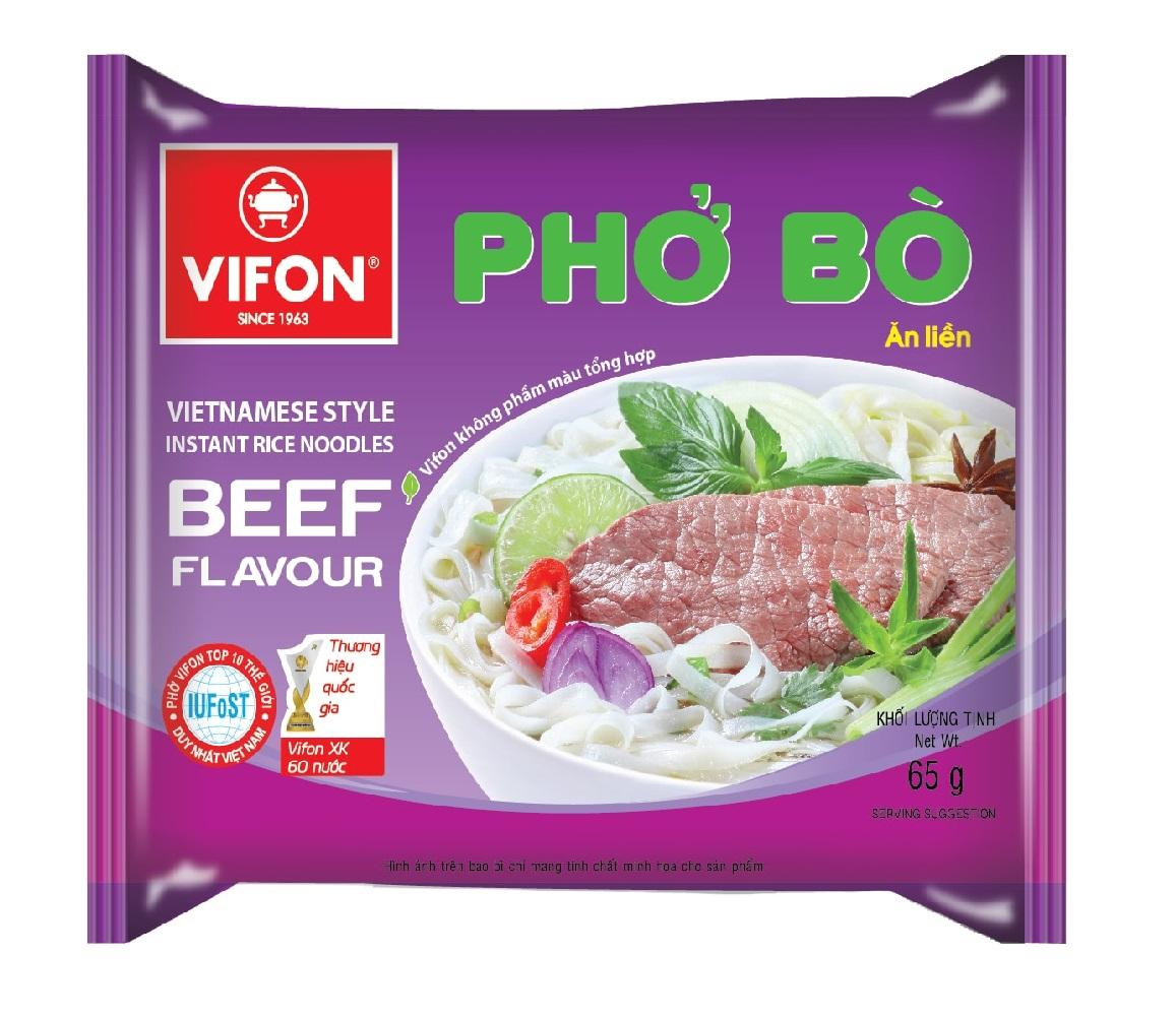 Вьетнамская лапша Vifon Pho Bo (65 г)