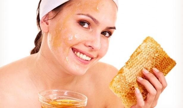 Очищающая медовая маска пилинг Vedette honey