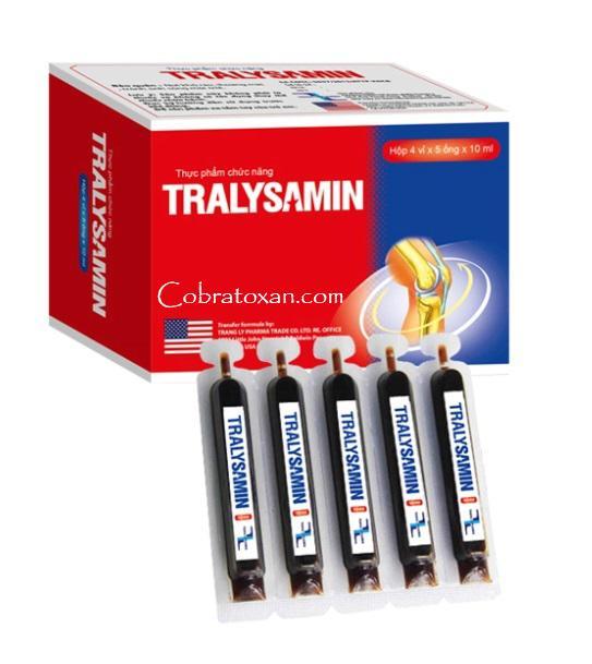 Питьевой хондропротектор Tralysamin в ампулах (быстрый эффект 20 шт.)
