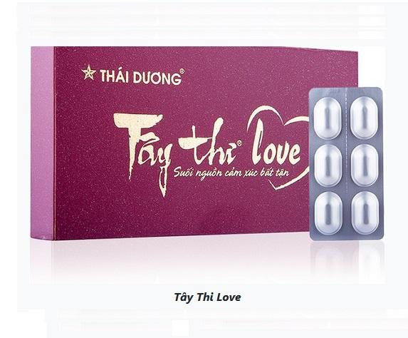 Растительный препарат Tay Thi Love для интимного здоровья женщин, Sao Thai Duong (6 капс.)
