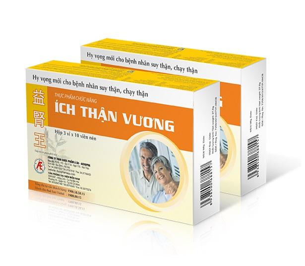 Растительный препарат Ich Than Vuong для защиты почек, AE Pharmaceutical (30 табл.)