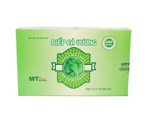 Растительный препарат для облегчения симптомов запора и геморроя Diep Ca Vuong, MT Phaco (30 капс.)