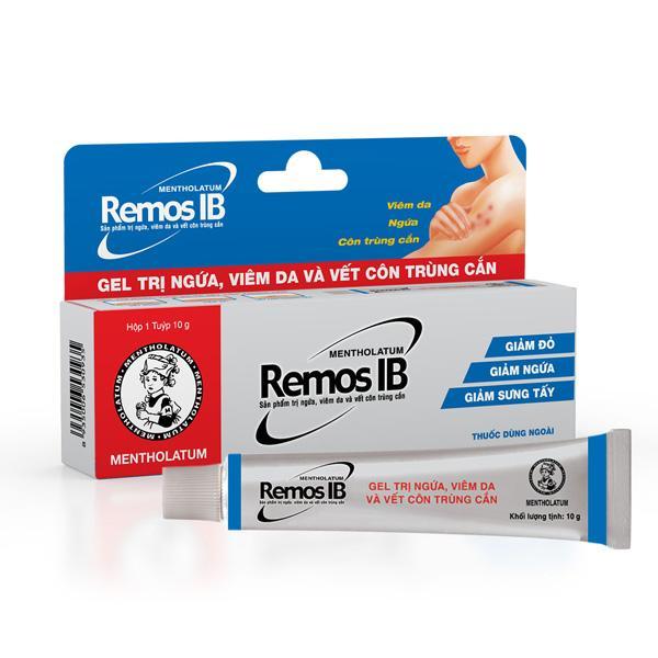 Remos IB мазь от кожный заболеваний (10 г)