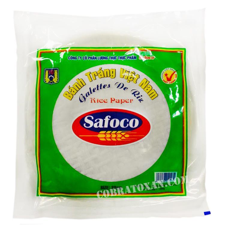 Рисовая бумага Safoco из Вьетнама (22 см, 300 грамм)