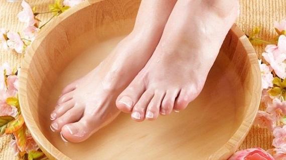 смягчение ног