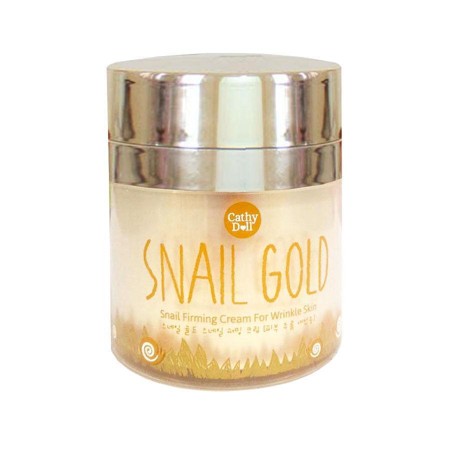 Укрепляющий крем от морщин Snail Gold