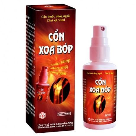 Спрей Con Xoa Bop — натуральное средство против артрита и ревматизма