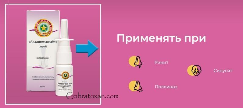против ринита, поллиноза, синусита