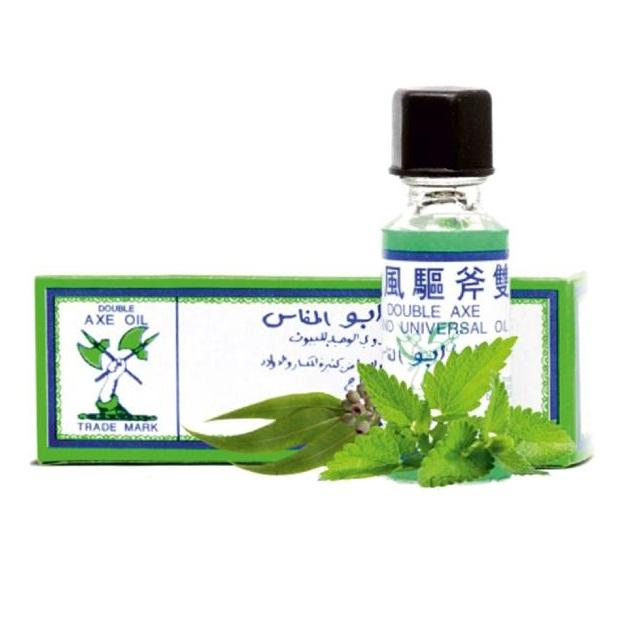 Универсальный оздоравливающий бальзам Double Axe Oil, Tai Yan (3 мл)