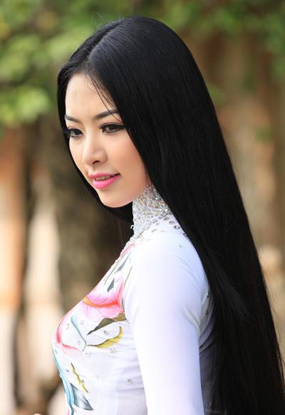 красивые волосы вьетнам