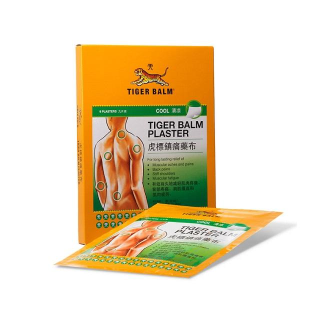 Тайский охлаждающий пластырь Tiger Balm