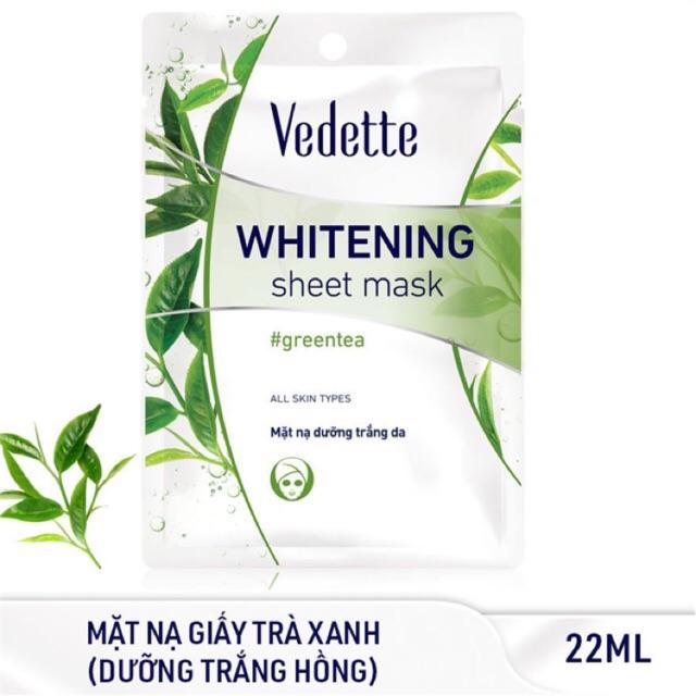 Маска для лица с зеленым чаем Vedette (25 г)