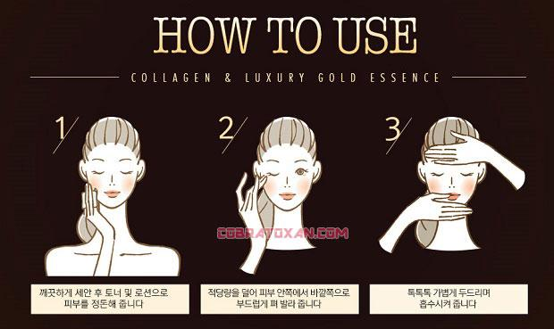 3W Clinic Collagen Luxury Gold