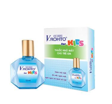 Капли противовоспалительные V.Rohto Kids (13 мл)