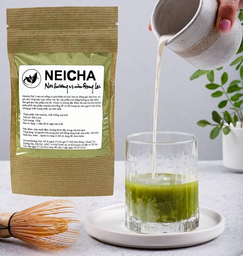 Зеленый чай Матча Matcha Powder, Neicha (порошок 100 г)