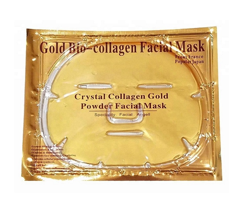 Золотая коллагеновая маска для лица Gold Bio Collagen Facial Mask